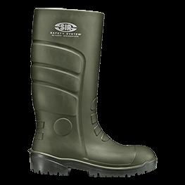 Green Pu-安全靴