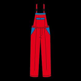 Nevada 背带裤