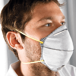 FFP1 NR 活性炭圆形口罩