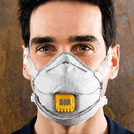 FFP2 NR 活性炭高效抛弃式带阀口罩