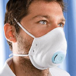 Premium FFP1 NR D 带呼吸阀口罩